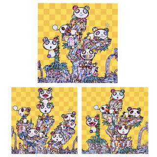 3種セット 新品未開封 村上隆 パンダ ポスター ED300(版画)