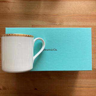 ティファニー(Tiffany & Co.)のAki29様専用 Tiffany ゴールドバンド ペアマグカップ(グラス/カップ)