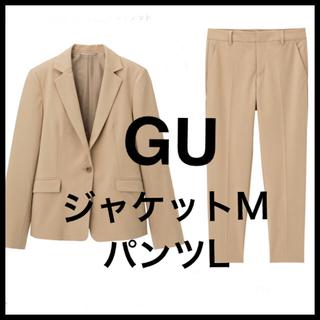 ジーユー(GU)の値下★ GU セットアップ スーツ M/L UNIQLO ユニクロ プラステ(スーツ)