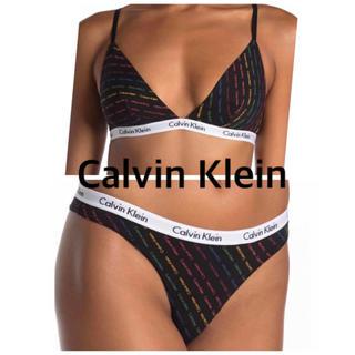 Calvin Klein - ロゴ カルバンクライン ブラ トップ ショーツ CK パンツ スポーツブラ 新品
