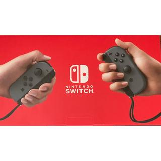 ニンテンドースイッチ(Nintendo Switch)のあゆパンマンさま専用ニンテンドースイッチ本体グレー二台(家庭用ゲーム機本体)
