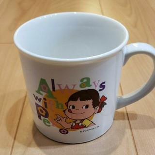 フジヤ(不二家)の不二家 ペコちゃん 非売品 マグカップ Always with Peko(グラス/カップ)