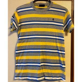 ジムフレックス(GYMPHLEX)のGymphlex マルチボーダー柄 Tシャツ レディース(Tシャツ(半袖/袖なし))