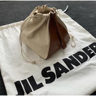 ジルサンダー(Jil Sander)の【ジルサンダー】/ツートーンバッグ(ハンドバッグ)