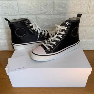 マークジェイコブス(MARC JACOBS)の使用品Marc Jacobs マークジェイコブス Black sneaker(スニーカー)