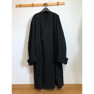 マルタンマルジェラ(Maison Martin Margiela)のessay 16aw Oversized collar less coat S(チェスターコート)