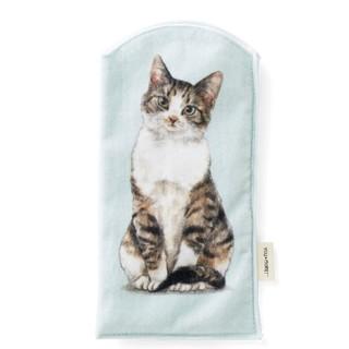 フェリシモ(FELISSIMO)の猫のペットボトルタオルの会/キジシロ(日用品/生活雑貨)