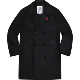 シュプリーム(Supreme)のsupreme military trench coat M black 黒(トレンチコート)