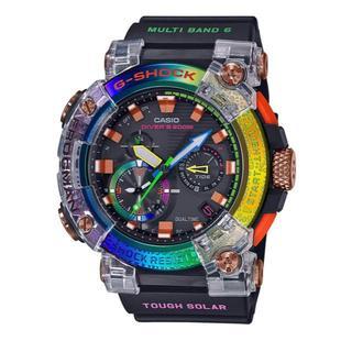 カシオ(CASIO)のCASIO G-SHOCK レインボー フロッグマン GWF-A1000BRT(腕時計(デジタル))