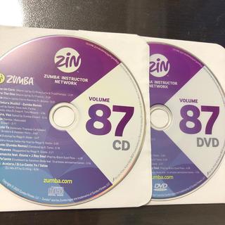 ズンバ(Zumba)のズンバ ZIN87  CD.DVD  (スポーツ/フィットネス)