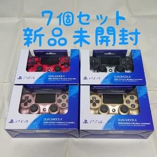 プレイステーション4(PlayStation4)の【新品】7個セット ワイヤレスコントローラー(DUALSHOCK 4) (その他)