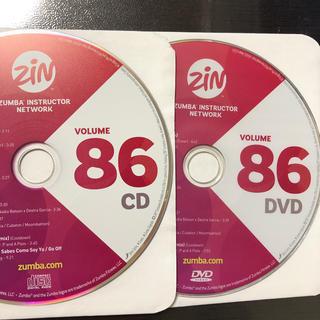 ズンバ(Zumba)のズンバ ZIN86  CD.DVD(スポーツ/フィットネス)
