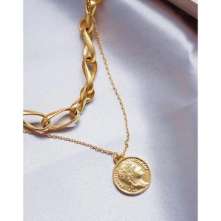 スナイデル(snidel)のLayered Chain Necklace herlipto チェーン (ネックレス)