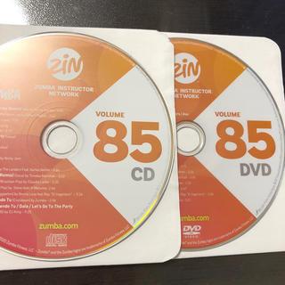 ズンバ(Zumba)のズンバ ZIN85  CD.DVD(スポーツ/フィットネス)