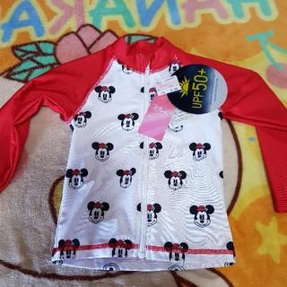 ディズニー(Disney)の新品 ディズニー ミニーちゃん キッズ 90 UV 上着 UPF50+(水着)