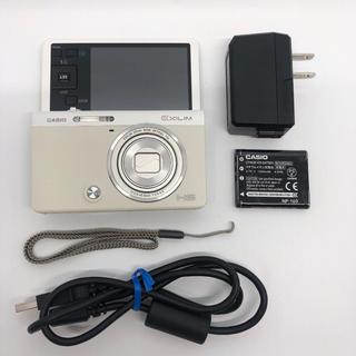カシオ(CASIO)のCASIO デジタルカメラ EXILIM EX-ZR50WE 1610万画素(コンパクトデジタルカメラ)