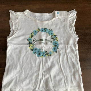 コムサイズム(COMME CA ISM)のセット 半袖 スカート(Tシャツ)