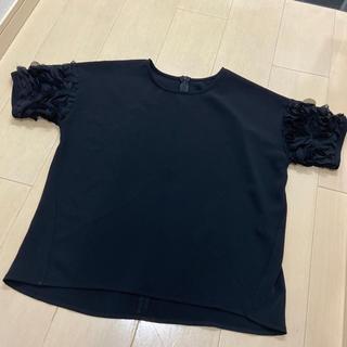 フレイアイディー(FRAY I.D)の美品 お上品トップス 雑誌掲載(Tシャツ(半袖/袖なし))