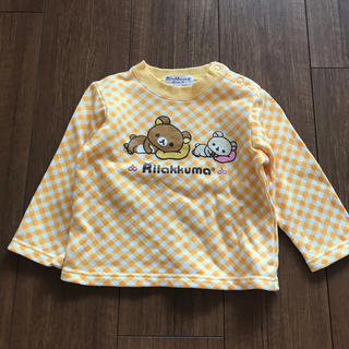 サンエックス(サンエックス)のリラックマスウェットトレーナー長袖95(Tシャツ/カットソー)