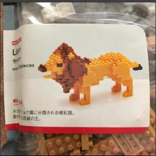 カワダ(Kawada)のナノブロック ライオン(模型/プラモデル)
