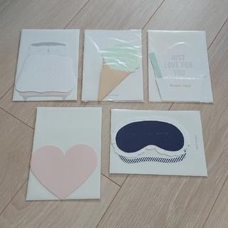 ジェラートピケ(gelato pique)のジェラートピケ メッセージカード 5点(カード/レター/ラッピング)