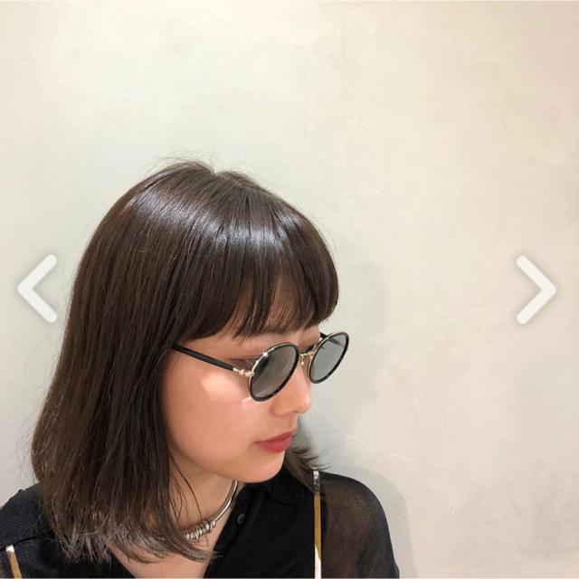 Ayame(アヤメ)のayame×CLANE FOCUS - blue レディースのファッション小物(サングラス/メガネ)の商品写真