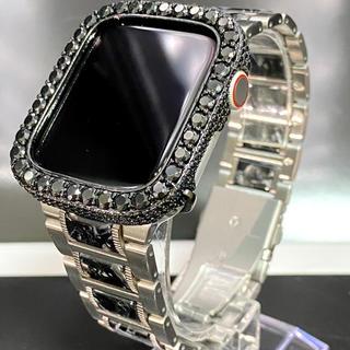 アップルウォッチダイヤカバーベルトセット アップルウォッチ用カスタム(腕時計(デジタル))