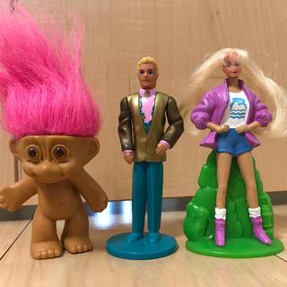 バービー(Barbie)のバービー ケン トロール人形 アメリカン雑貨 アメコミ(ぬいぐるみ/人形)