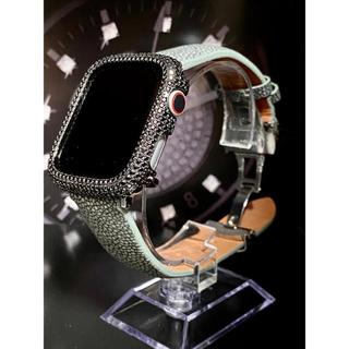 アップルウォッチ用カスタムセット アップルウォッチ用カスタムカバー(腕時計(デジタル))