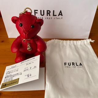フルラ(Furla)のFURLA クマチャーム 新品未使用 最終値下げ(キーホルダー)