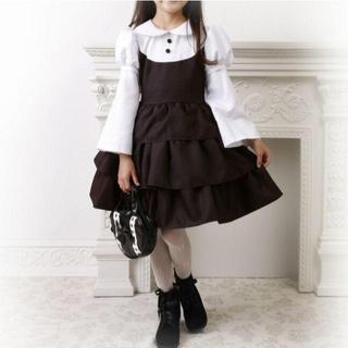 キャサリンコテージ(Catherine Cottage)のキャサリンコテージ 黒アリス ドレス ハロウィン ゴスロリ ディズニー  130(衣装)