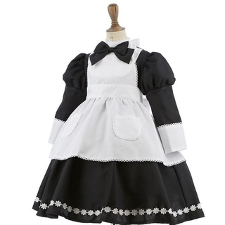 キャサリンコテージ(Catherine Cottage)のキャサリンコテージ 黒アリス ドレス ハロウィン ディズニー ゴスロリ 110(衣装)