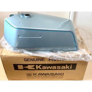 カワサキ(カワサキ)の新品!Z1R 2型 ガソリンタンク ビッグタンクオリジナル塗装/Z1Z2(パーツ)