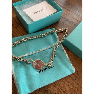 ティファニー(Tiffany & Co.)のTiffany ティファニー ネックレスリターントュウティファニー  チョーカー(ネックレス)