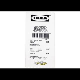 """オフホワイト(OFF-WHITE)のVirgial Abloh x IKEA """"receipt rug""""(ラグ)"""