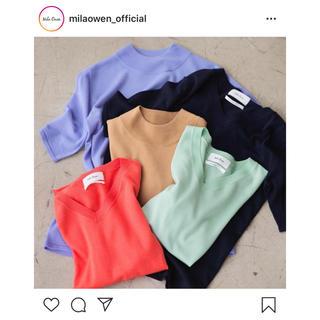 ミラオーウェン(Mila Owen)の5周年記念 Mila Owen ビエラヤーン Tシャツ(Tシャツ(半袖/袖なし))