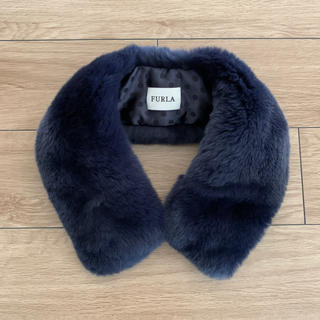 フルラ(Furla)のフルラ ラビットファー カラー つけ襟 (つけ襟)