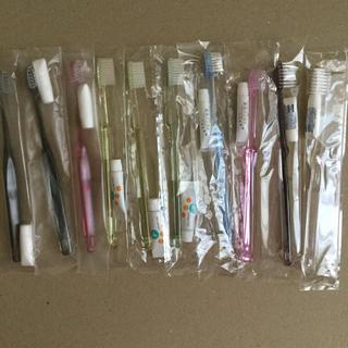 使い捨て歯ブラシ ペースト付き(歯ブラシ/歯みがき用品)