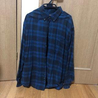 FADED GLORY 青黒 チェックシャツ サイズ2XL(シャツ)