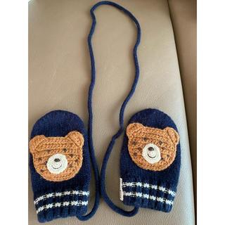 ミキハウス(mikihouse)のミキハウス HOT BISCUITS ベビー手袋(手袋)
