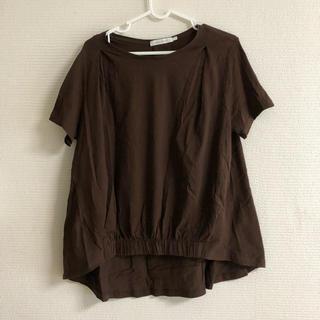 アメリカンホリック茶色Tシャツ(Tシャツ(半袖/袖なし))