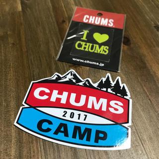 チャムス(CHUMS)のチャムス ステッカー 転写(ステッカー)