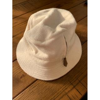 エルメス(Hermes)のエルメス HERMES ポケット付き ハット 帽子 バケットハット(ハット)