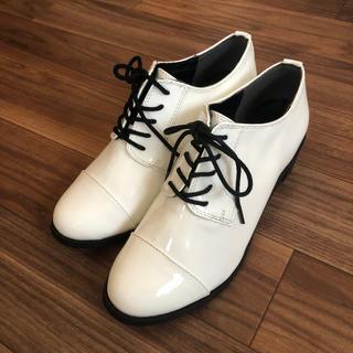 ヘザー(heather)のエナメルシューズ(ローファー/革靴)