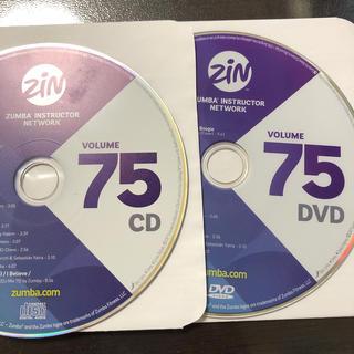 ズンバ(Zumba)のズンバ ZIN75  CD.DVD(スポーツ/フィットネス)