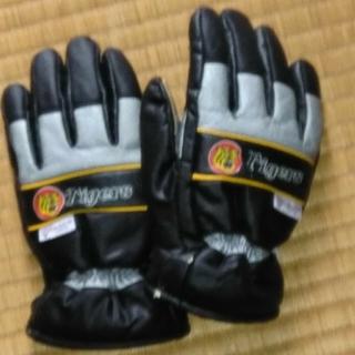 ハンシンタイガース(阪神タイガース)の阪神タイガース防水手袋(手袋)