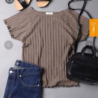 フリークスストア(FREAK'S STORE)のFREAK'S STORE  【WEB限定】ジャガードメローTシャツ   (Tシャツ/カットソー(半袖/袖なし))