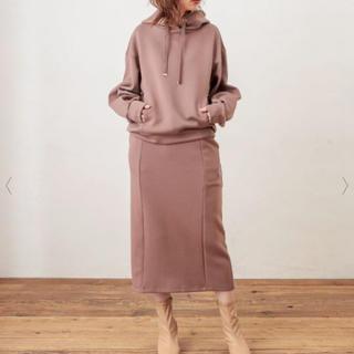 ナチュラルクチュール(natural couture)のふわもちラテパーカー&スカート(パーカー)