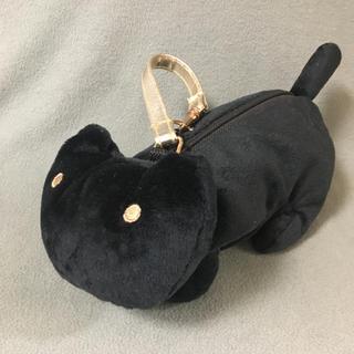 ツモリチサト(TSUMORI CHISATO)のツモリチサト ネコちゃん型ミニポーチ😻 ストラップ付(ポーチ)