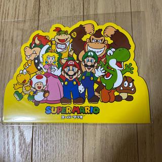 ニンテンドウ(任天堂)の任天堂 スーパーマリオ 非売品ノート(ノート/メモ帳/ふせん)